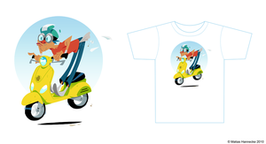 Vespa Shirt by mhannecke