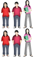 Sprite Sheet :: Side Characters Batch 2 by NeonIncarnate