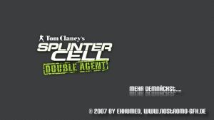 Splinter Cell Double Agent by 3xhumed