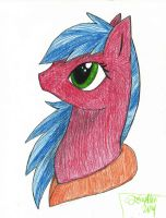 Aryn Headshot (Pony) by Aryncoryn
