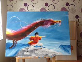 Dragonbender by CozySofaUniverse