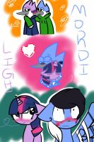 Mordelight ( the title says it) by ToxicWaffleQueen