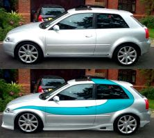 cool audi S3 by fastworks