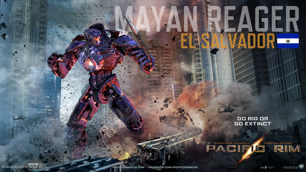 Pacific Rim-Mayan Reager by alicialisseth