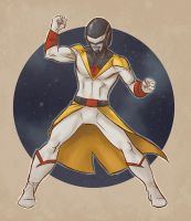 Space Ghost Tokusatsu by linxo