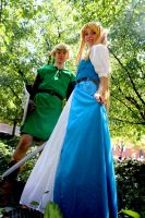 Link to the Past - Princess and Her Hero by Midnight-Dare-Angel