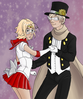 Sailor Canada and Tuxedo Russia by Impkat