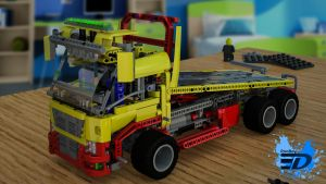 Lego Truck by Rooboy3D