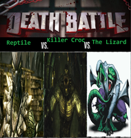 The Battle of Reptile Beings by newsuperdannyzx