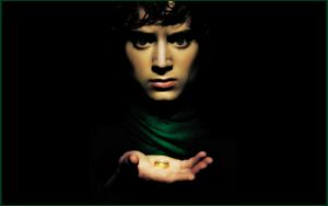 Frodo-Lord Of The Rings-Digital Painting by chamirra