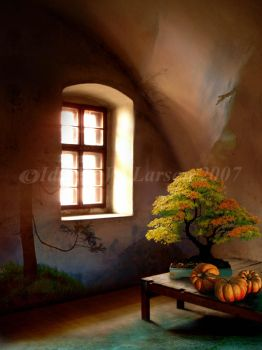 The Autumn Room by IdaLarsenArt