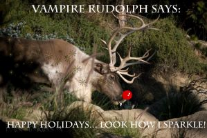 Holiday Rudolph by Macropus-Rufus