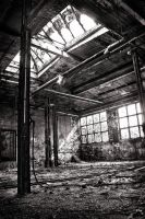 Lost Place HDR BW by DasHorst