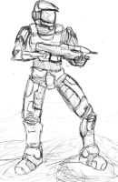 Master Chief by ysqure0