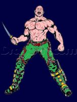 drax-the-destroyer-guardians-of-the-galaxy A by bigkrocks