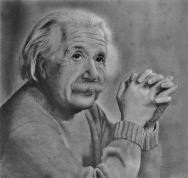 Albert Einstein by luisdavidluna