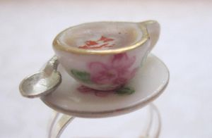 French Vanilla Tea Cup by CandyChick