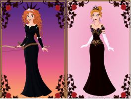 Gothic Princesses (Disney) part 6 by Missgagagothlawyer