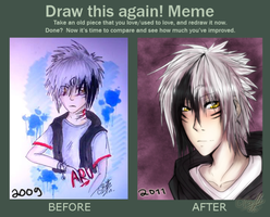 draw this again meme vol 2 by Bihve