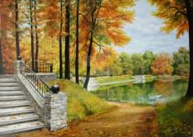 Fall River Park by Art-Lep