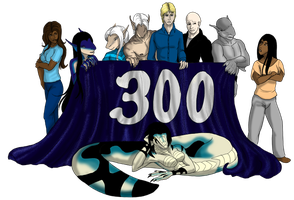Gemutations: Plague 300th page banner by Tigershark06