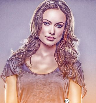 Olivia Wilde //ART// by KENANN827