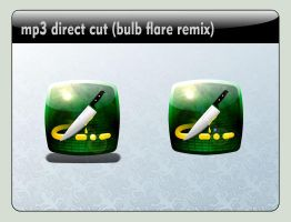 mp3 direct cut Dock icon (bulb flare) by LustaufMeer
