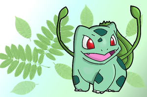 Bulbasaur by Thespianna