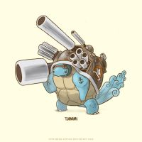 Squirtle Super Evolve by Sheharzad-Arshad
