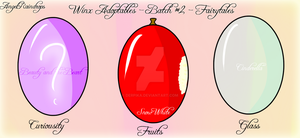 Winx OC Hatchables - Set 2 - Closed by Derpika
