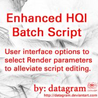 Enhanced HQI Batch Script by Apophysis