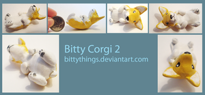 Bitty Corgi 2 - SOLD by Bittythings