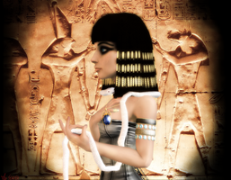 Egyptian Concubine by 47612784612784678128