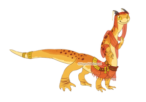 Gecko Dragon - OPEN $10 by NagoshiAshumari