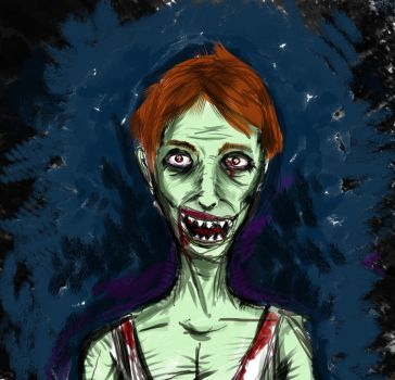 Zombie by SamucaMartins