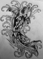 Koi Design 1 by CircusBug