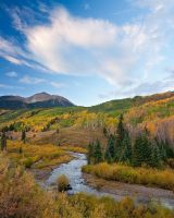Sunshine Mountain in Autumn by kennedmh