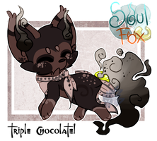 (Closed) TripleChocolate SoulFox Adopt Auction! by SetSaiI