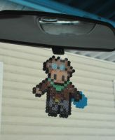 League of Legends Ezreal Bead Sprite Ornament by ReinaLaura