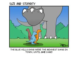 Blue Hills Gang by Size-And-Stupidity