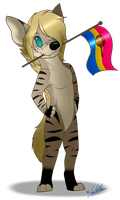 Sexuality Flag Chibi: Lucy~ by ScottishRedWolf