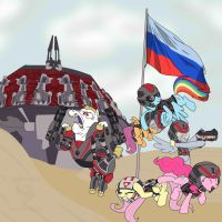 Russia got her own planetside server! by SpazzyMcnugget
