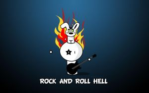 Rock and roll hell - KISS by pincel3d