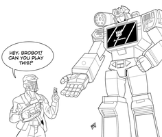 Soundwave and Starlord by Mono-Phos