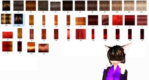mmd Realistic Hair Texture DL-no more dl- by 2234083174