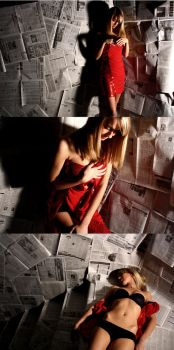 Exposed 3 (Triptych) by LightrayPhotography
