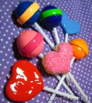Lollipop Hand Made Pendants by cherrybomb-81