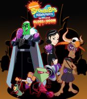 nictoons globs of doom concept char all villains by sibred