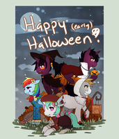 Happy Halloween by Mousu