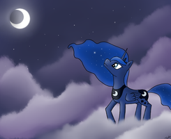 Princess Luna Mk. II by Jel0z